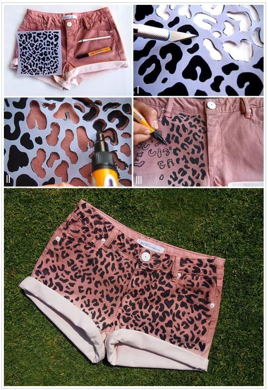 Tutorial DIY DIY Pantalones cortos / pantalones cortos de bricolaje - Bead & Cable
