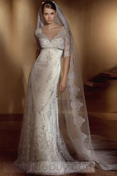 lace wedding dress: Lace Weddings, Weddingdress, Wedding Dressses, Lace Wedding Dresses, Wedding Gown, Wedding Ideas, Sleeve, V Neck
