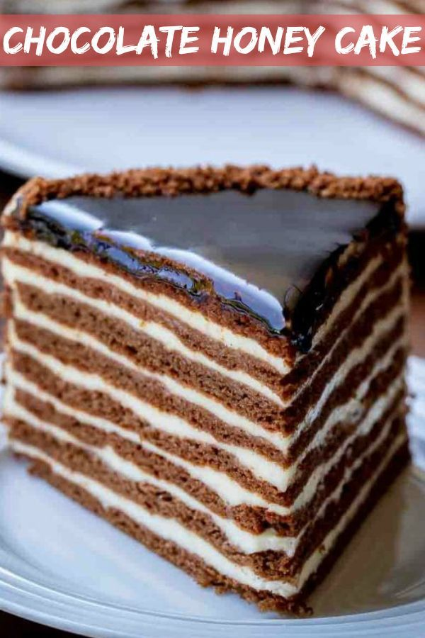 Chocolate Honey Cake Spartak Cake Let The Baking Begin Delicious Cake Recipes Dessert Recipes Easy Sweet Treats Recipes