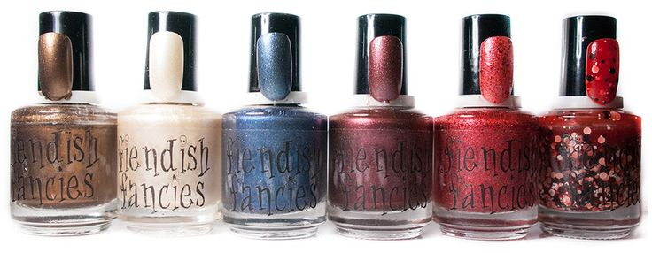 The Beware Collection ~ Inspired by Crimson Peak ~ 5-Free, vegan, cruelty-free Nail Lacquer hand-poured in Canada