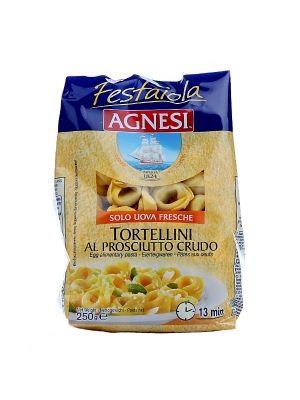 Tortellini z nadzieniem o smaku szynki prosciutto crudo  • apetyczna przekąska • w 100% naturalne składniki