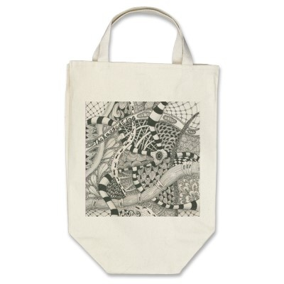 VIDA Tote Bag - Spirograph Tote by VIDA t0W0CM4Za