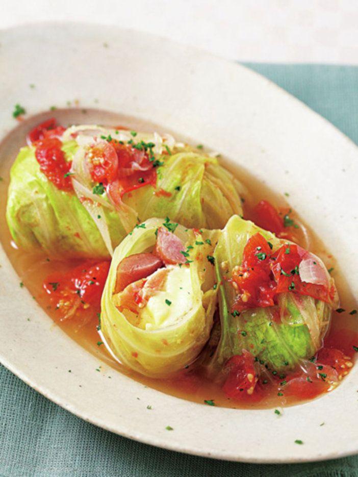 中身は鮭とウインナー、そしてチーズ! 肉を使わないから簡単な時短レシピ|『ELLE a table』はおしゃれで簡単なレシピが満載!
