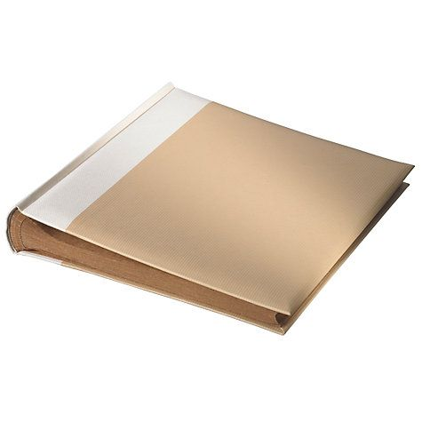 Buy Natural Traditional Photo Album Online at johnlewis.com