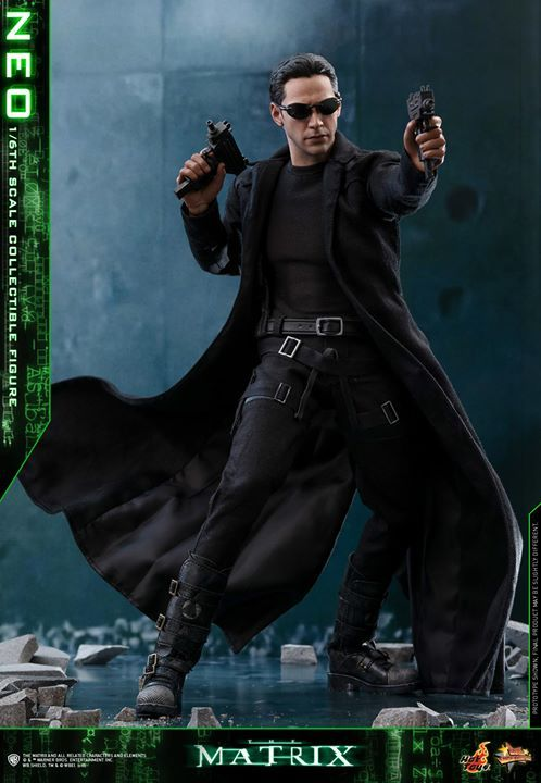 """【The Matrix - 1/6th scale Neo Collectible Figure】  """"He is the one."""" – Morpheus   In the binary world with one and zero codes, are you a zero, or The One? The legendary and widely acclaimed Sci-Fi blockbuster The Matrix has created tremendous impact on cinema and pop-culture of an era with its concepts and characters.  Portrayed by the renowned actor Keanu Reeves and ranked as one of the greatest movie characters of all time, Neo is foretold by the prophecy to be """"The One"""" who can put an end…"""