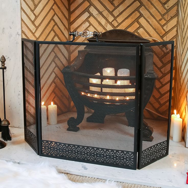56 best fire screens and fire guards images on pinterest front
