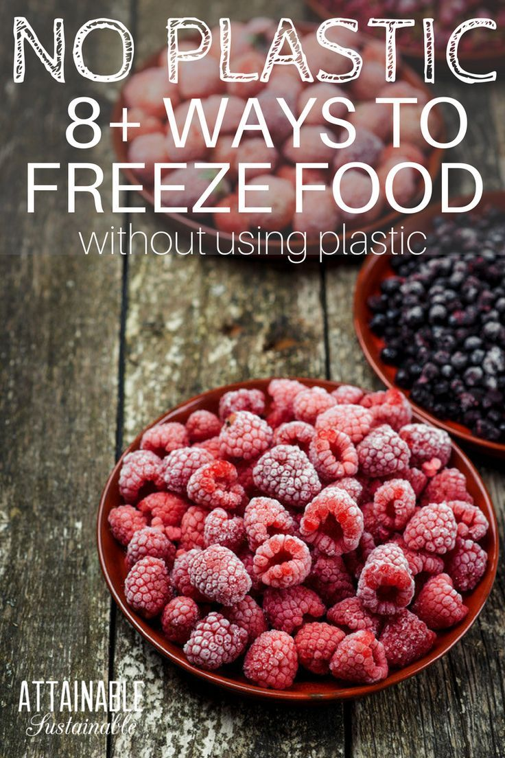 Is it possible to store food in the freezer withOUT plastic on your little homestead? These plastic-free, BPA-free alternatives are they way to go for storing garden fresh produce in the freezer.