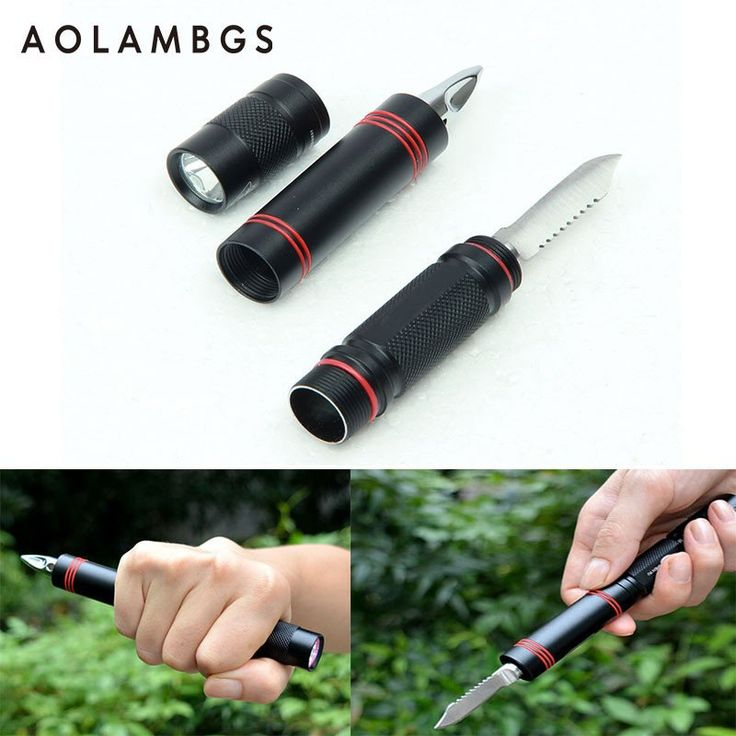 Security Protection Tactical Pen Self Defense Multifunction LED Flashlight Outdoor Survival Torch self-defense Emergency Tool