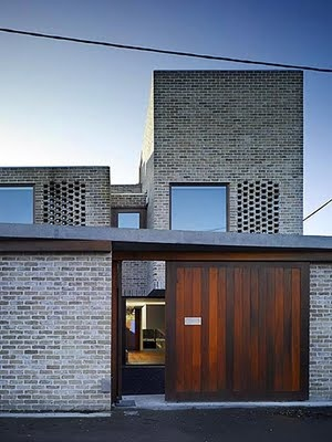 street facade Grafton Architects Dublin Mews House