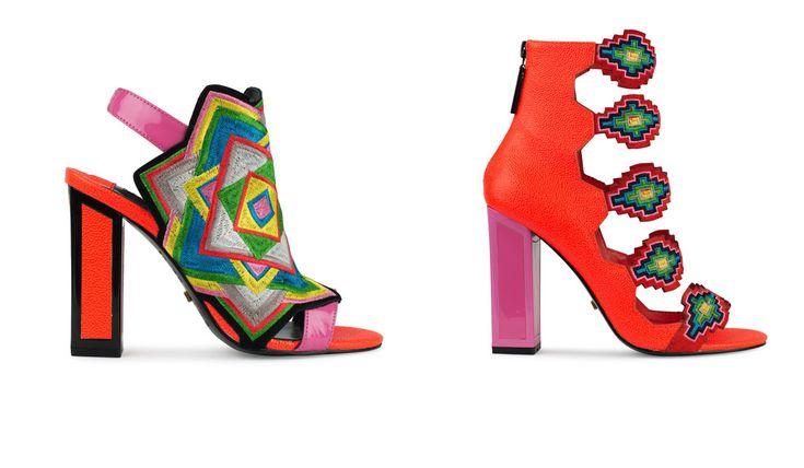 Kat Maconie: calzature londinesi dai rimandi Inca