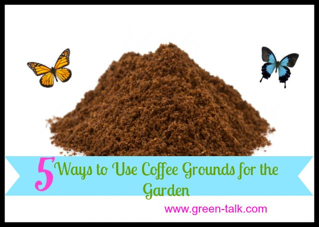 5 ways to use coffee grounds in the garden gardens the o 39 jays and anna for How to use coffee grounds in garden