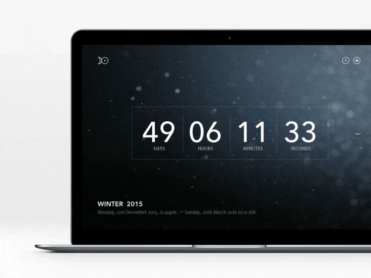 Daily UI Day 14 Countdown Timer by Andrej Radisic for Five