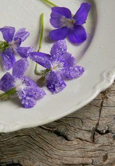 Flores comestibles: recetas