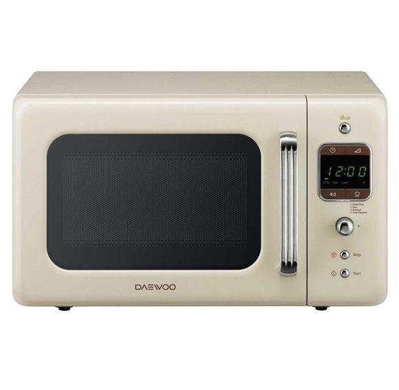 Daewoo Freestanding Range Microwave in Cream