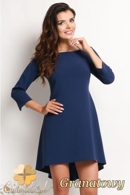 Asymetryczna sukienka. #cudmoda #moda #ubrania #fashion #styl #awama #clothes