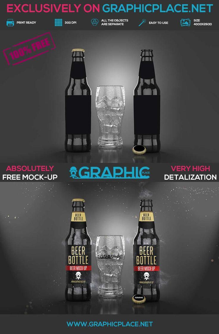 Beer Bottle - Free PSD Mockup. #beer #bottle #beerbottle #freeMockUp #freepsd #freepng #psd #mockup #bottlemockup DOWNLOAD FREE MOCKUP HERE: http://www.graphicplace.net/beer-bottle-free-psd-mockup/ MORE FREE GRAPHIC RESOURCES: http://www.graphicplace.net/