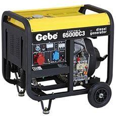 Gebe Powerman 6500 DC3 400 dieselelverk med elstart billigt