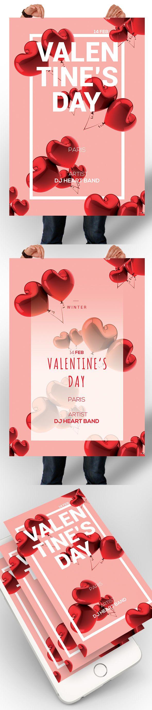 다음 @Behance 프로젝트 확인: \u201cValentines Day Poster\u201d https://www.behance.net/gallery/47303701/Valentines-Day-Poster