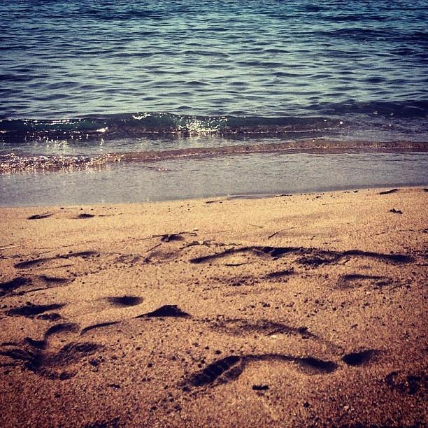 Greece/kalogria beach /May 2013