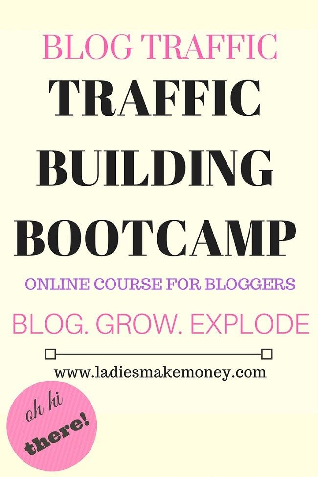 Blog Traffic: Traffic Building Bootcamp for bloggers. The strategies we are using to grow and explode our blog with organic traffic. This strategy will help you monetize your blog, grow your audience and make more money. Read more details on the blog.