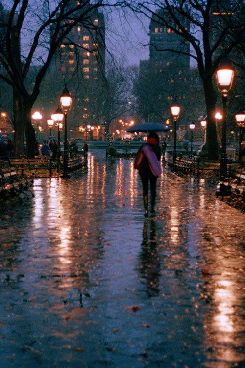 plasmatics-life:  Rain Night | by: {George Baroud}