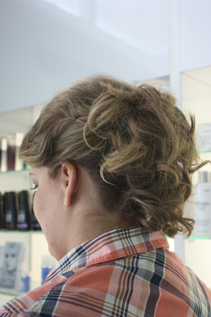 Another look of an upstyle done by Shauna at La Dolcevita Day Spa and Salon