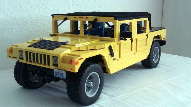 Lego Hummer H1 Soft Top