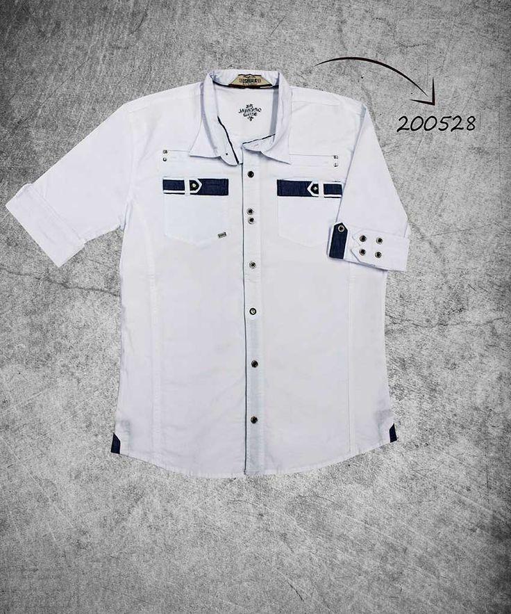 camisa-hombre-manga-tres-cuartos-color-blanco-shirt-three-quarter-sleeves-white-color-200528