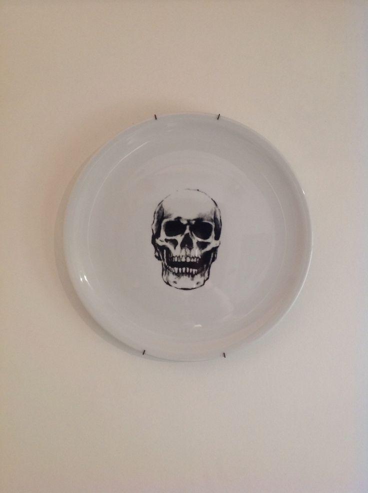 Skull #julietapuhl #home #skull #plat #maisonplat