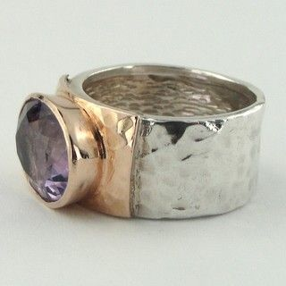 So pretty!  I love chunky rings.  Especially unique ones.