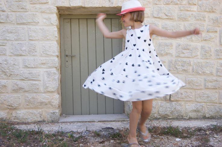 13 Best Modèles Patron Robe Pour Fille Images On Pinterest