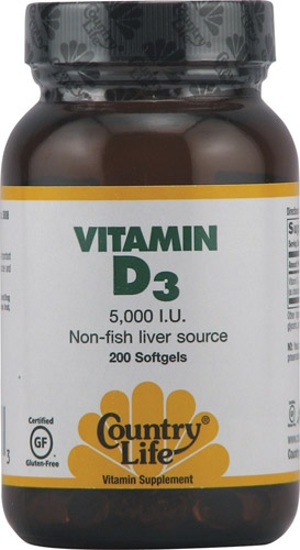 Country Life Vitamin D3.  Lots of brands of D3 to choose from.  I use this one because the carrier is a medium chain triglyceride (coconut oil) and not some lethal industrial seed oil.  This brand also does Not contain: Yeast, corn, wheat, soy, gluten, milk, salt, sugar, starch, preservatives or artificial color.