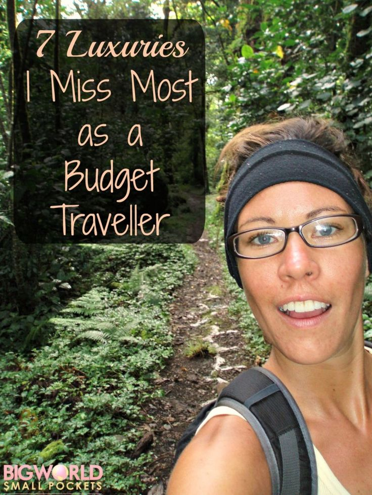 I'm not a girly girl by a long stretch, but there are some luxuries I do miss as a budget traveller. Baths, books and blenders ring a bell with anyone else?! {Big World Small Pockets}