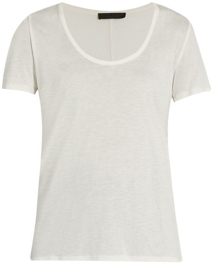 THE ROW Stilton scoop-neck T-shirt