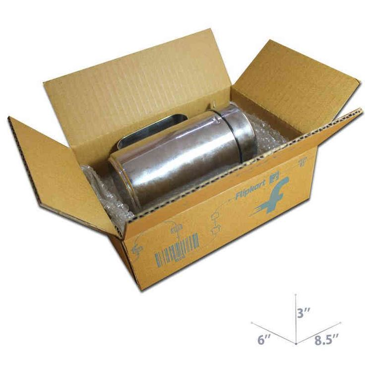 Buy 8.5 x 6 x 3 Flipkart Brown Corrugated Boxes For Ecommerce Packaging. Order Now!