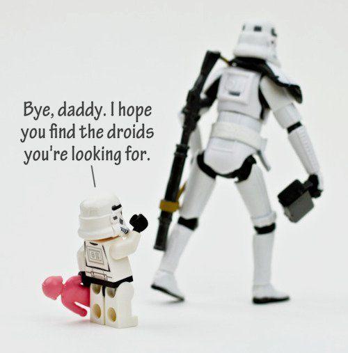 Storm Troopers needs encouragement too! Very Sweet. :)