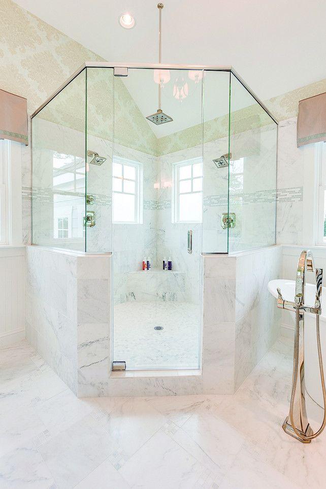 Best Corner Showers Ideas On Pinterest Small Bathroom