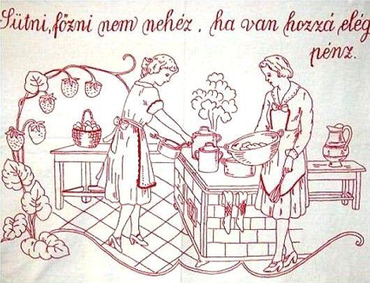 Nagyanyáink falvédői 5 - Minden napra egy puszi