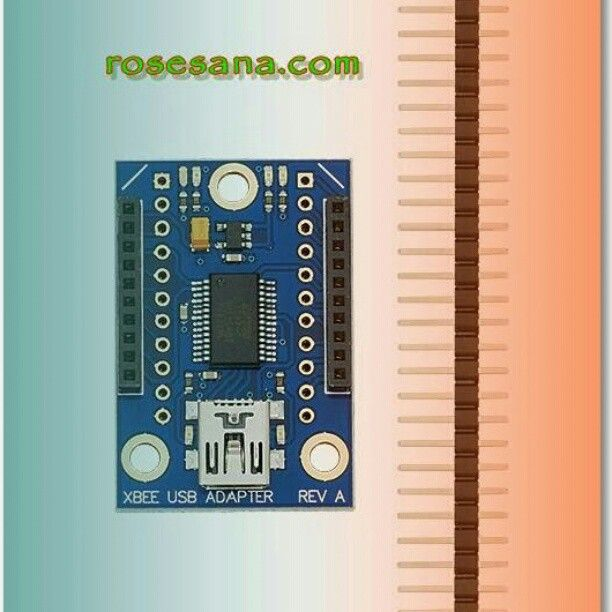 The low cost XBee USB Adapter Board comes in a partially assembled kit form and provides a cost-effective solution to interface a PC or microcontroller to any XBee or XBee Pro module. http://ift.tt/1NeeYZp