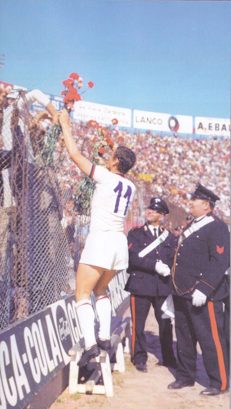 Gigi Riva, il 12 aprile 1970