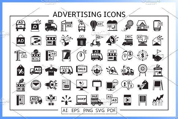 Advertising And Marketing Icons Marketing Icon Icon Advertising