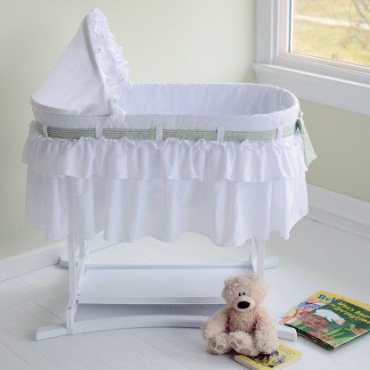 Lamont Home Good Night Baby Skirt Bassinet