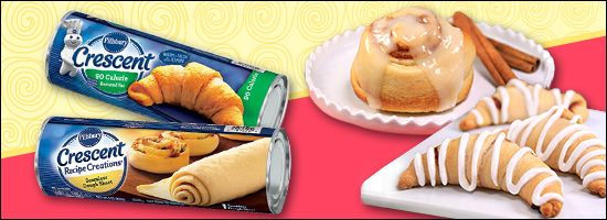 Whether you're making low-cal crescents or fat-slashed cinnamon rolls… get these helpful Pillsbury dough tips 'n tricks!