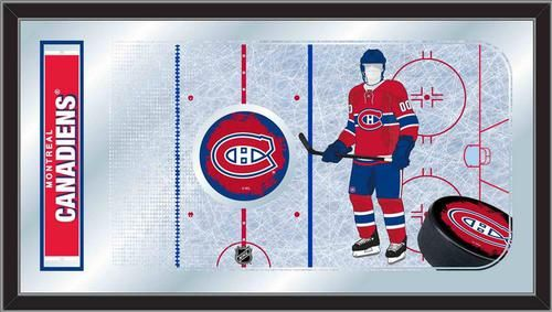 Montreal Canadiens Game Day Mirror Art Decoration