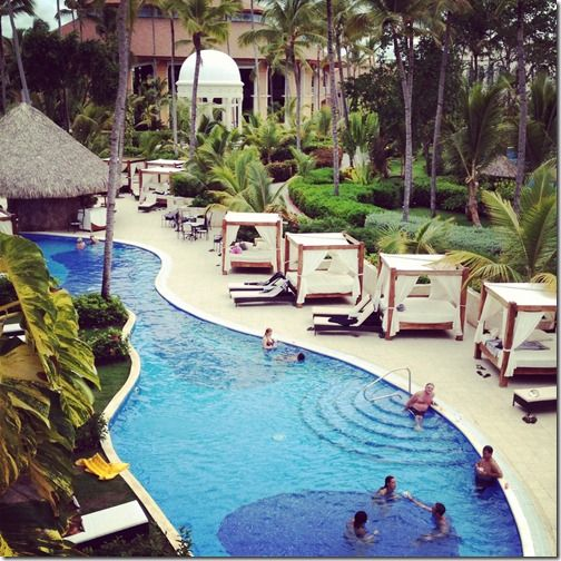 majestic elegance resort, punta cana, domincan republic--love the outdoor beds