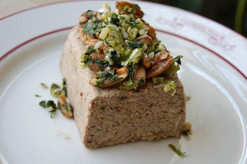 Mushroom Pate (Adapted from Vegetarian Cooking for Everyone by Deborah Madison)