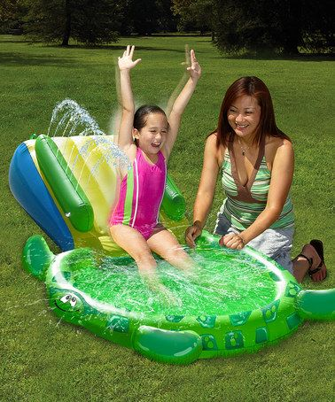 Love this Turtle Slide Pool by Wham-O on #zulily! #zulilyfinds