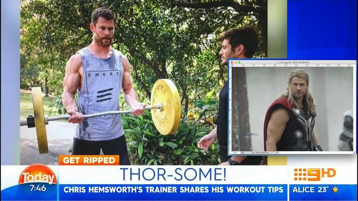 Chris Hemsworth's Trainer Reveals His Secret Workout and Diet (2017)