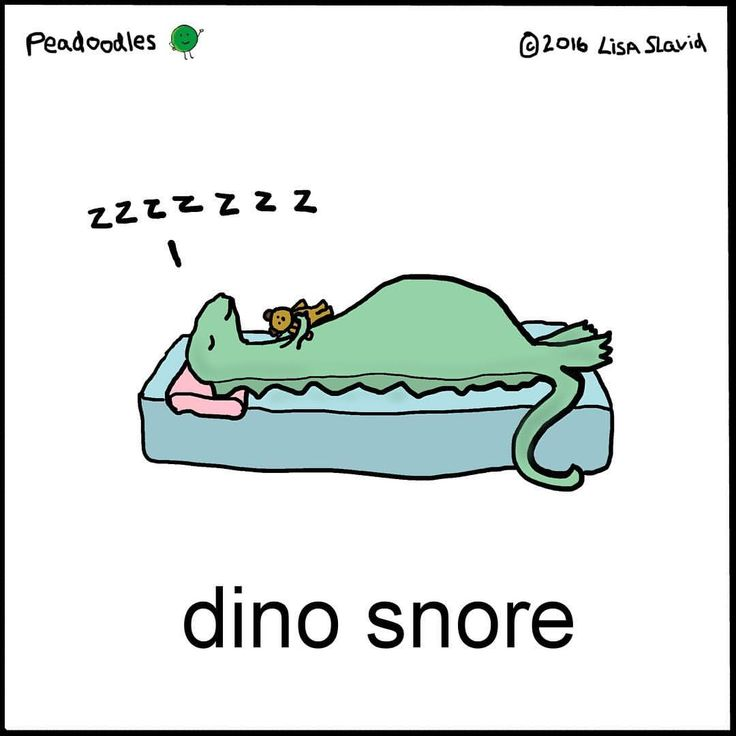 I get a little snoozy mid-afternoon too… #peadoodles #pun #puns #dinosnore #snore #snooze #dino #dinosaur #zzz #sleep #sleepy