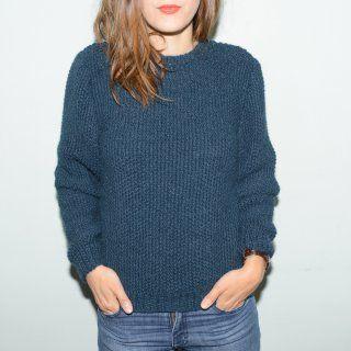 16 patrons pour tricoter un pull - Marie Claire Idées